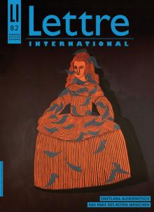 Cover Lettre International 82, Selma Gürbüz