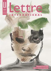 Cover Lettre International 89, Leiko Ikemura