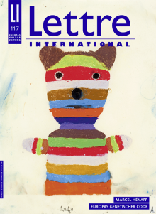 Cover Lettre International, Martin Assig