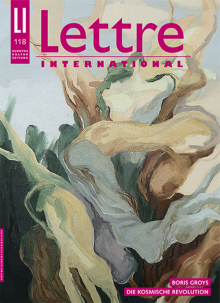 Cover Lettre International, Marina Roca Die